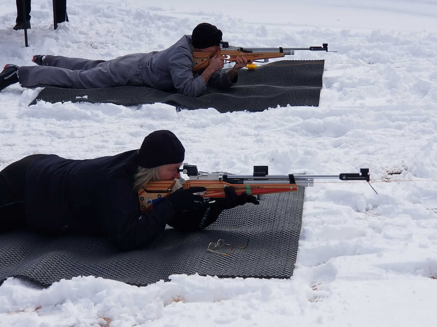 Veterans Venture into Catskill Mountains to Learn Biathlon Skills