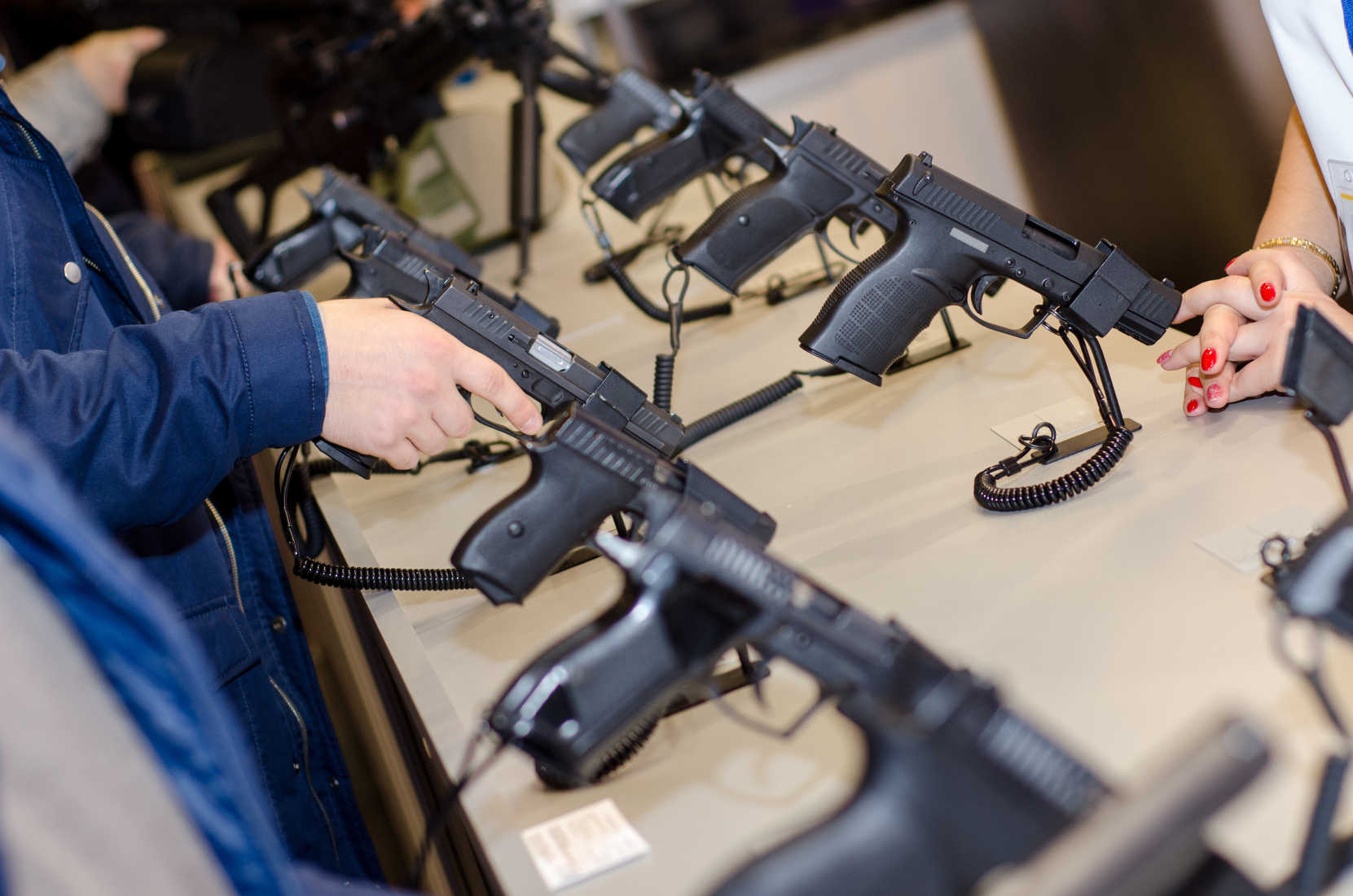Gun Show Protesters Mislead the Public in California