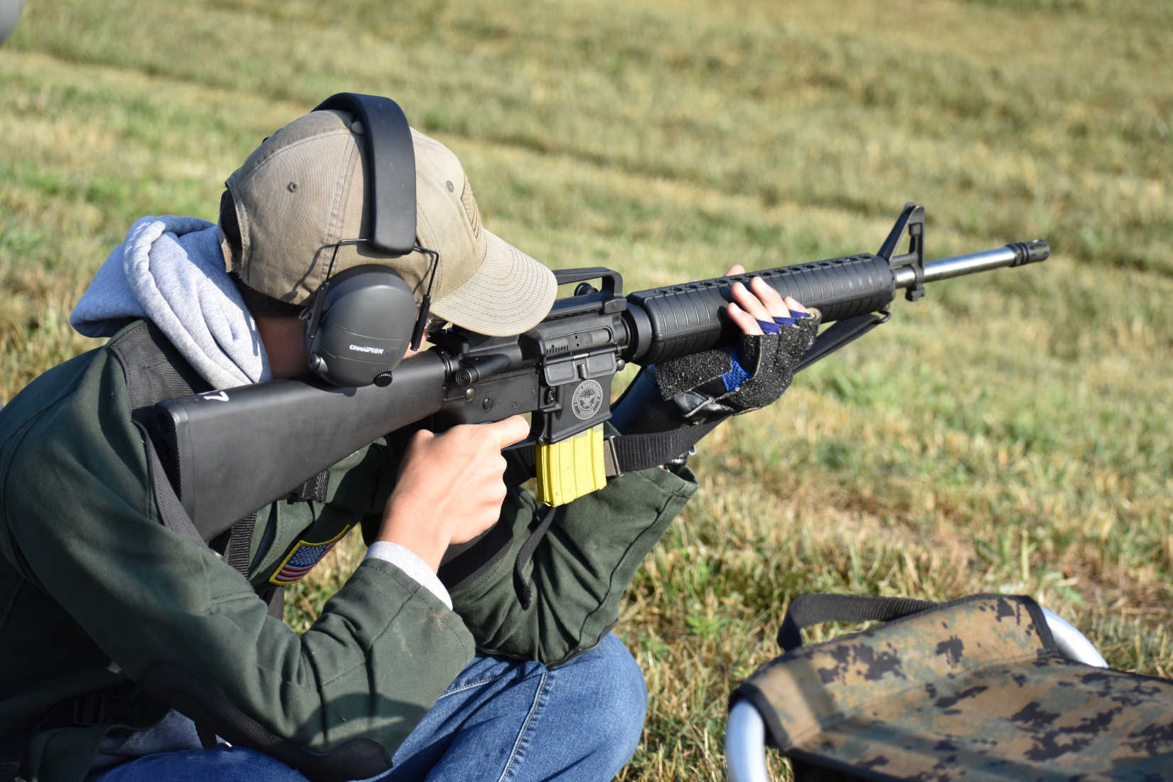 High Power Service Rifle Competition: How to Master the Sitting Position
