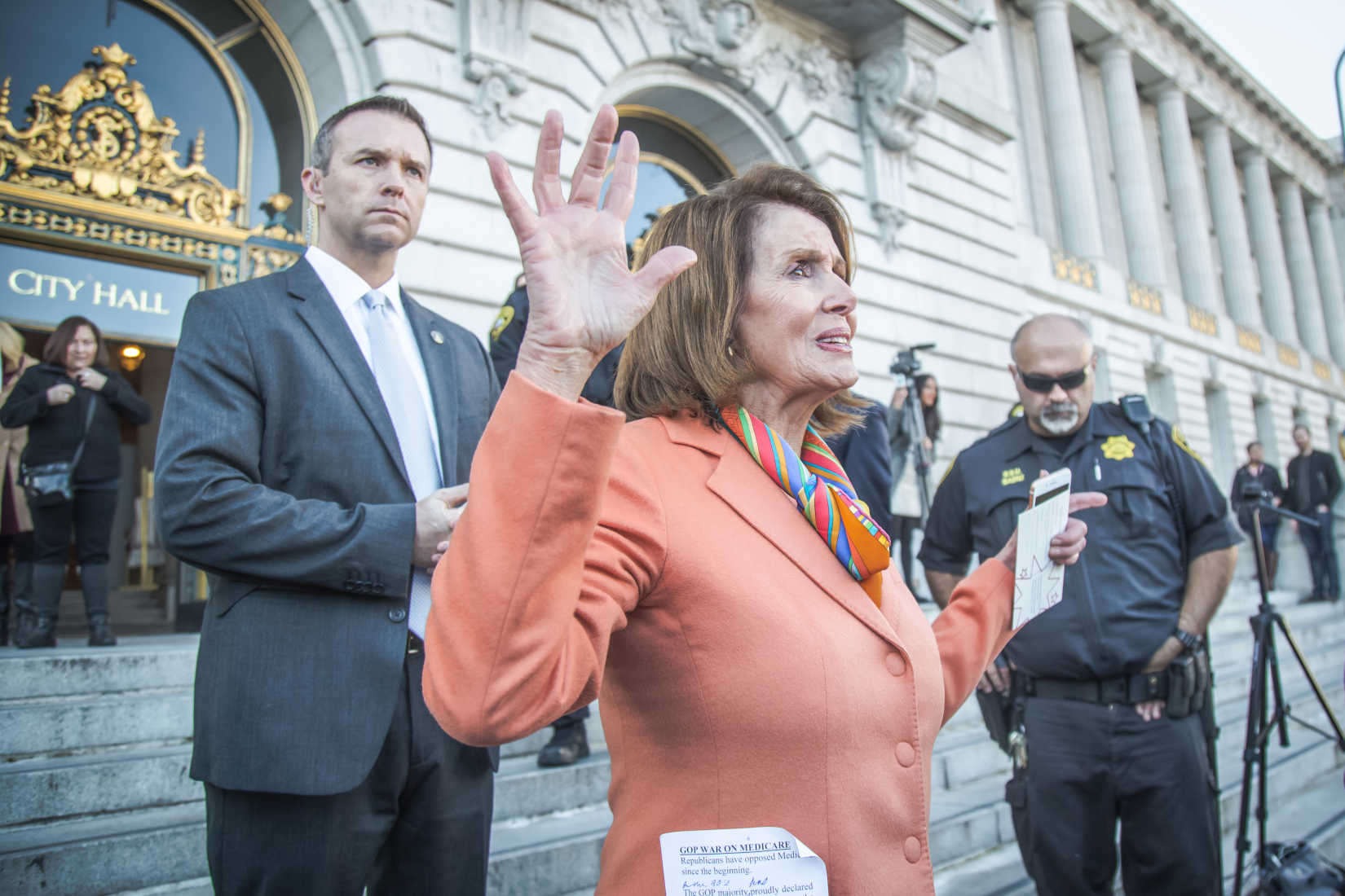 These Republicans Are Joining Forces with Pelosi to Promote a National Gun Registry