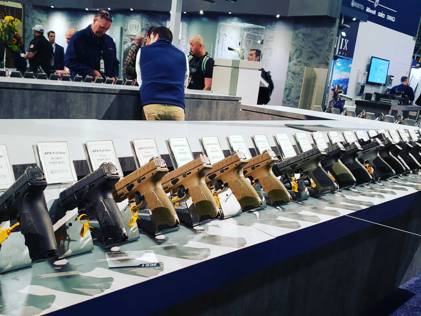 Why Thieves Who Stole Guns from SHOT Show Didn't Get Very Far