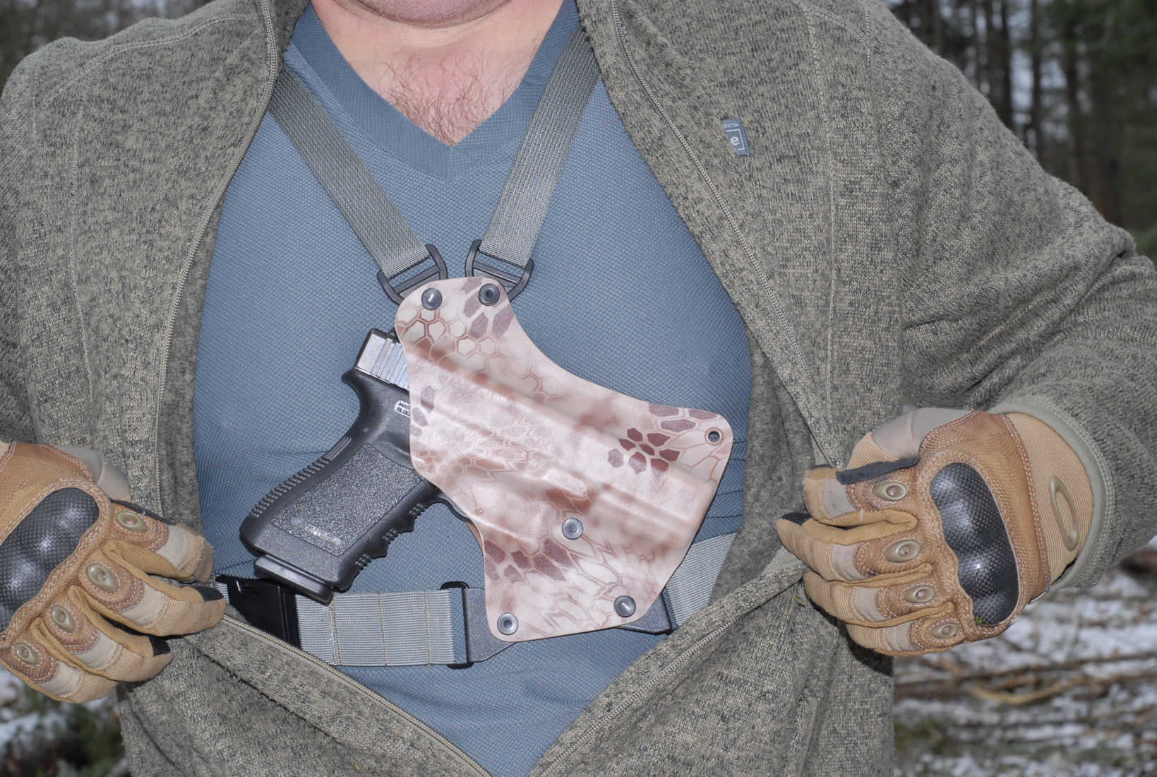 Why I Changed My Mind about Chest Holsters