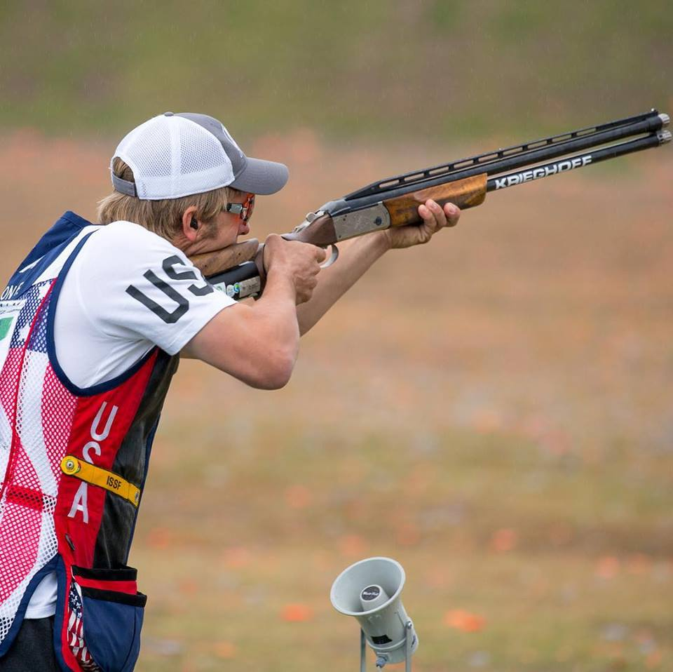 Catching up with Frank Thompson, Olympic Skeet Shooter