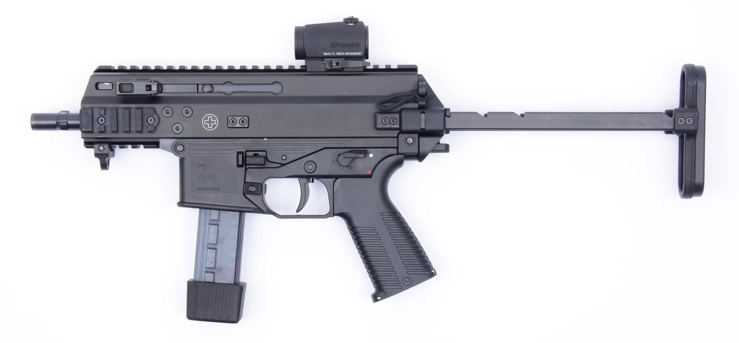 Take a Look at the U.S. Army's New Submachine Gun