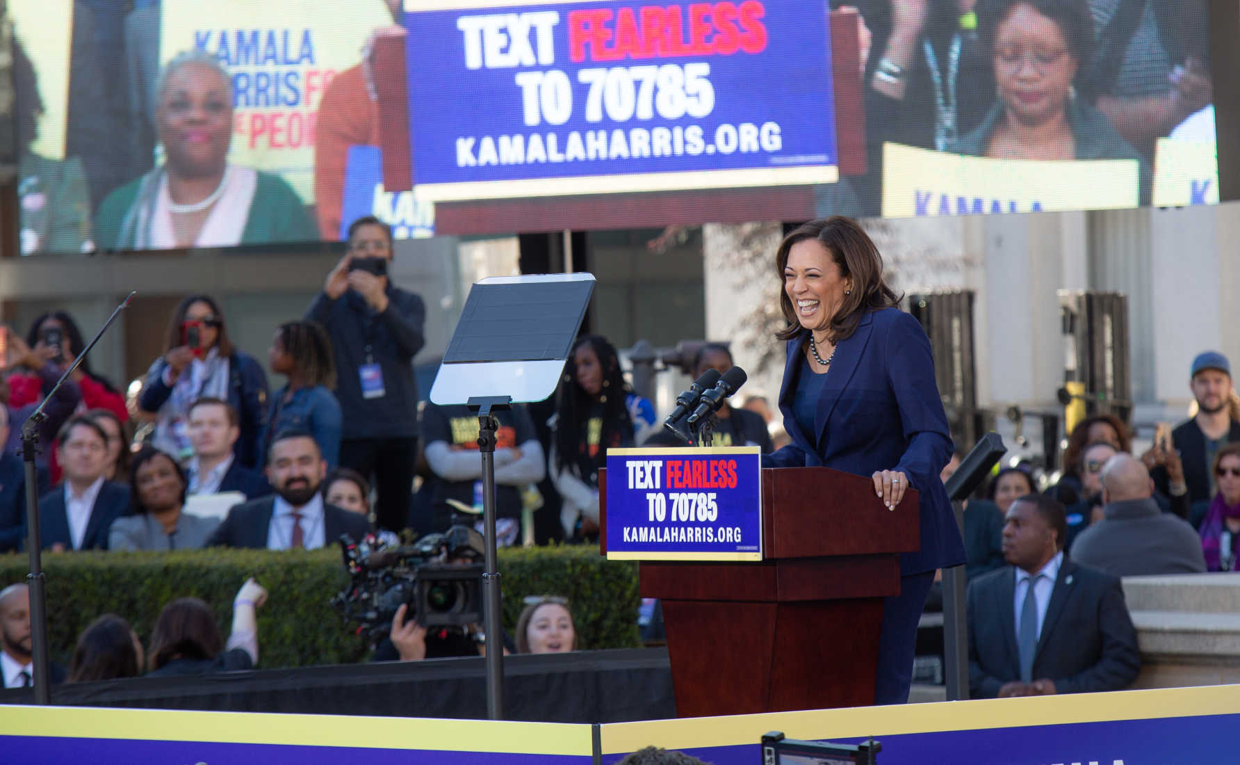 Kamala Harris Calls for Banning AR-15s