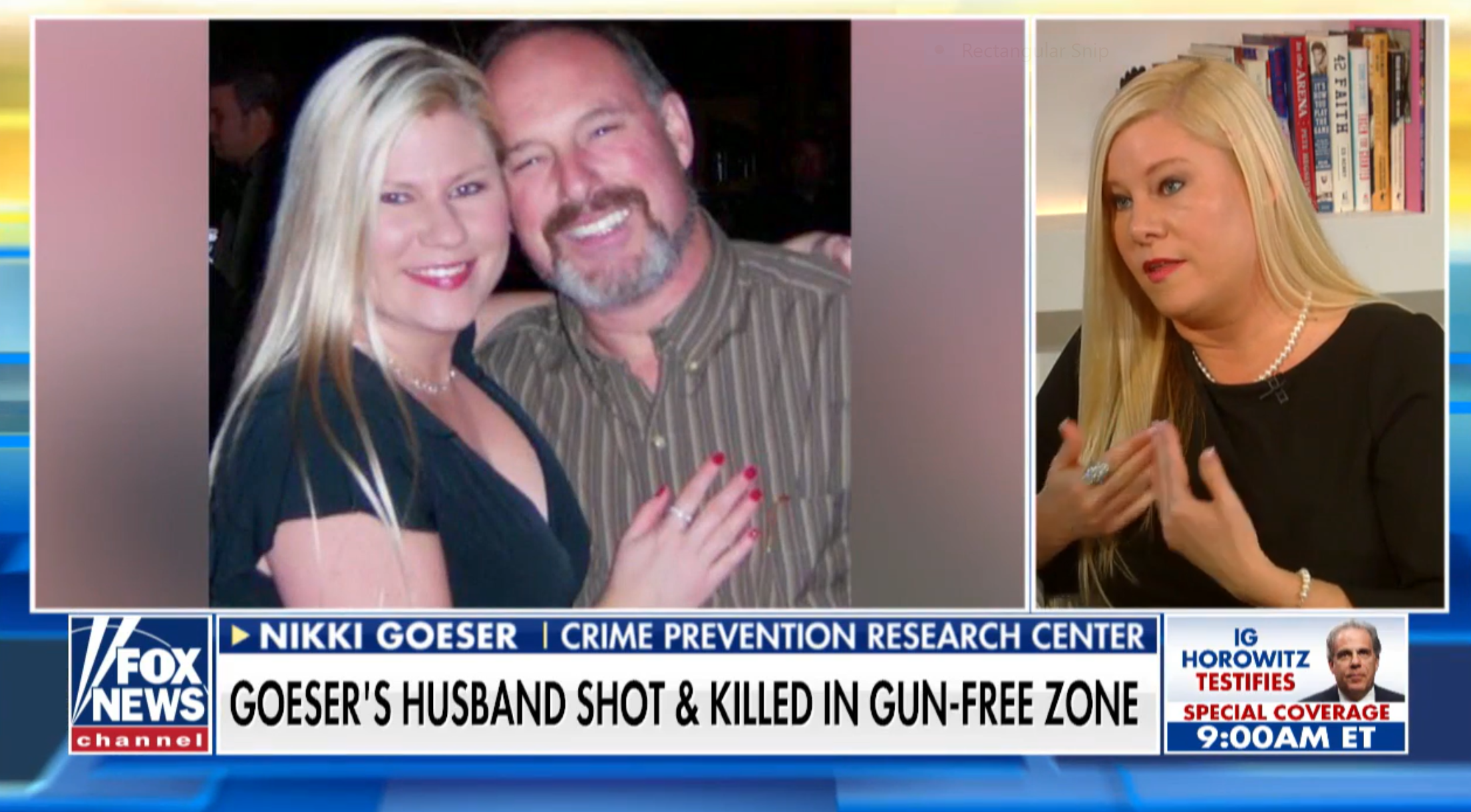 Widow: Gun Control Prevented Me from Protecting My Husband from Stalker