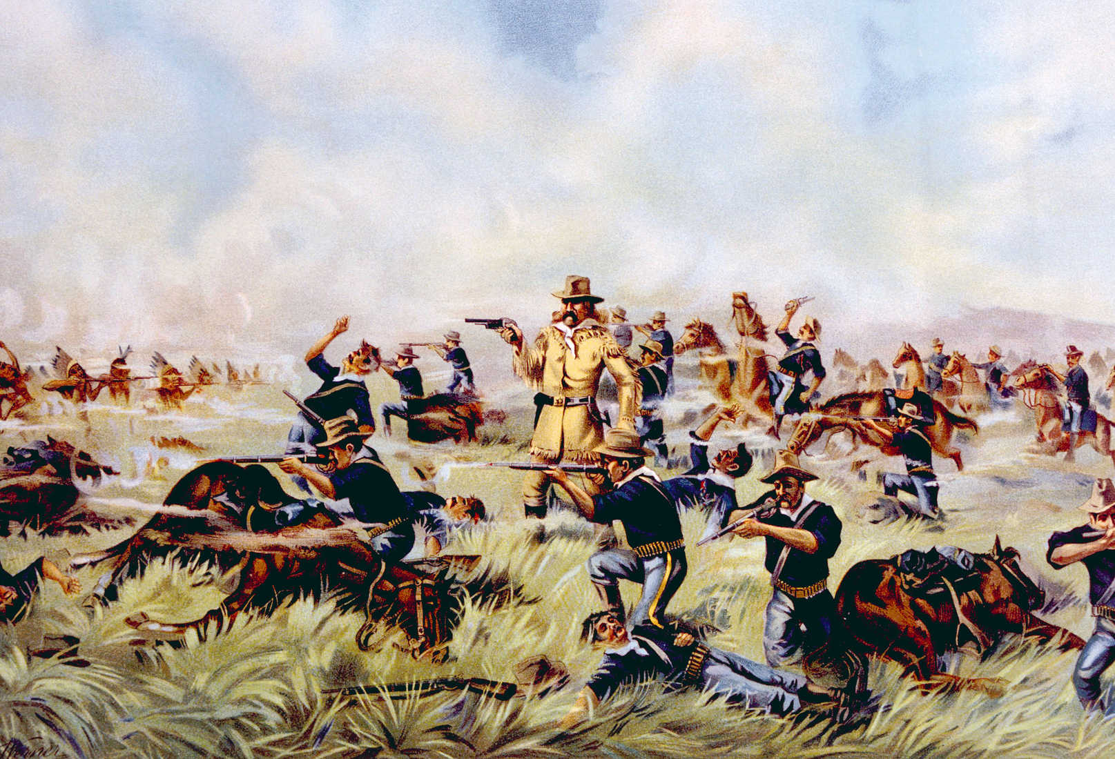 Guns and Bravery: Is This What Really Happened at the Little Bighorn?