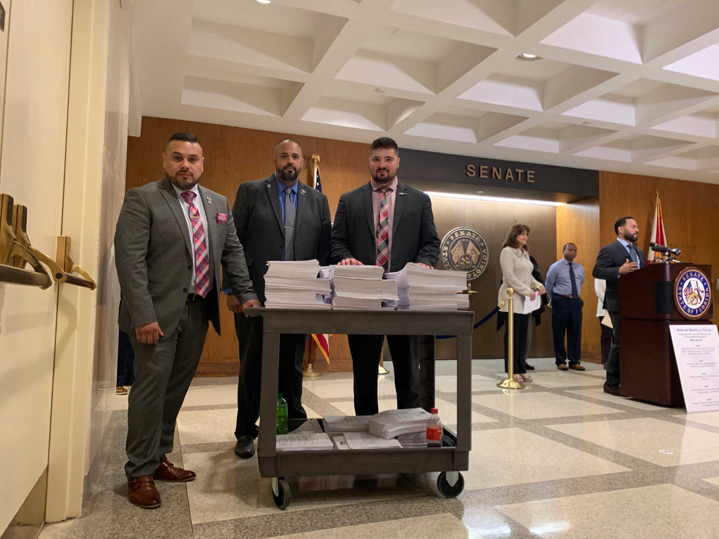 Florida Gun Rights Delivers 60,000 Petitions, Slams Republican-Sponsored Gun Control