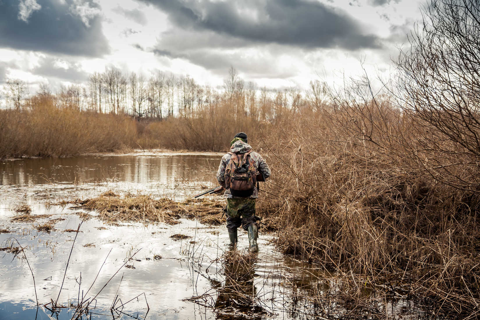 The First of Many High-Altitude Waterfowl Hunts