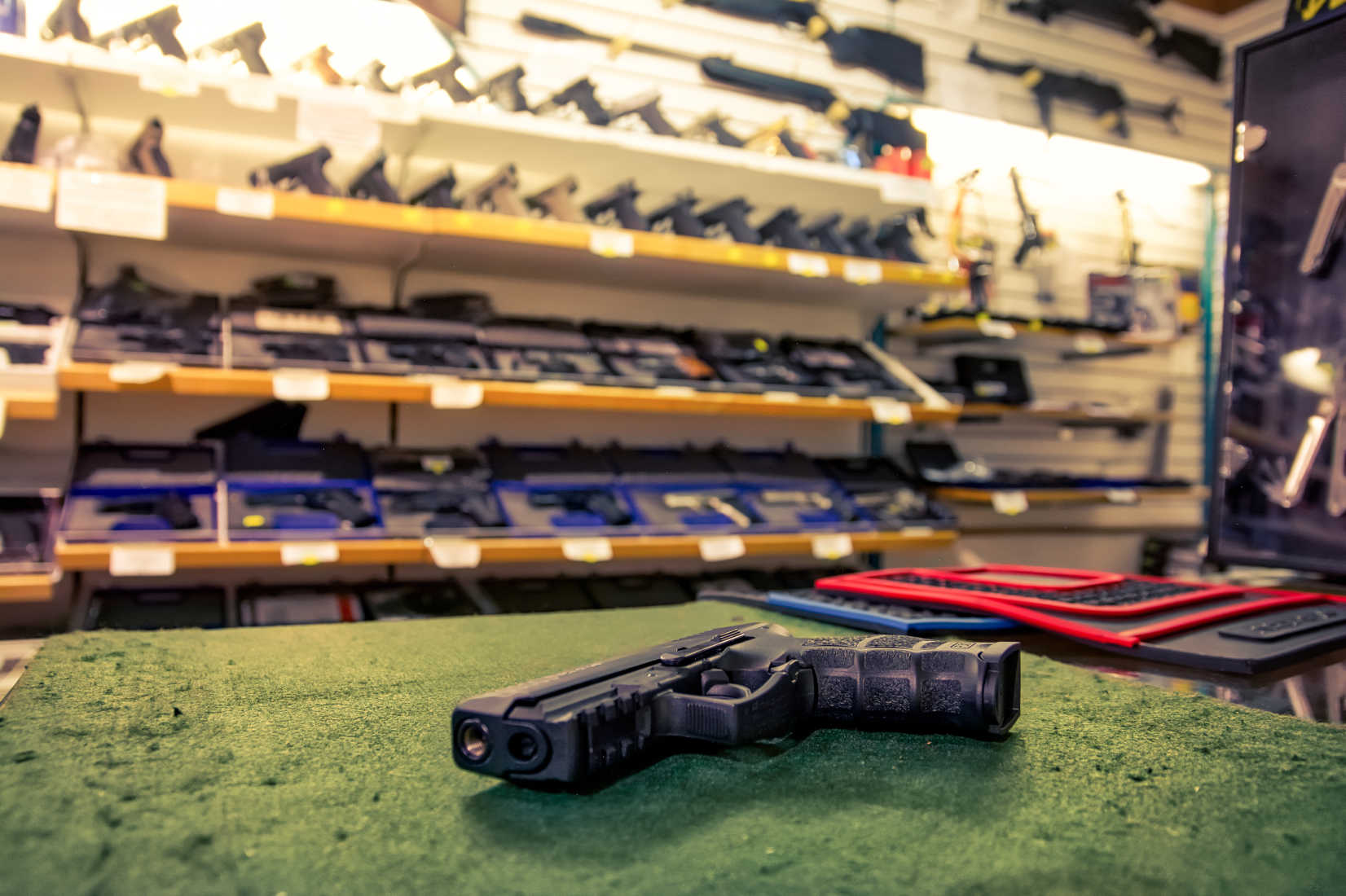 ATF to Gun Dealers: You Can Sell in Your Parking Lots