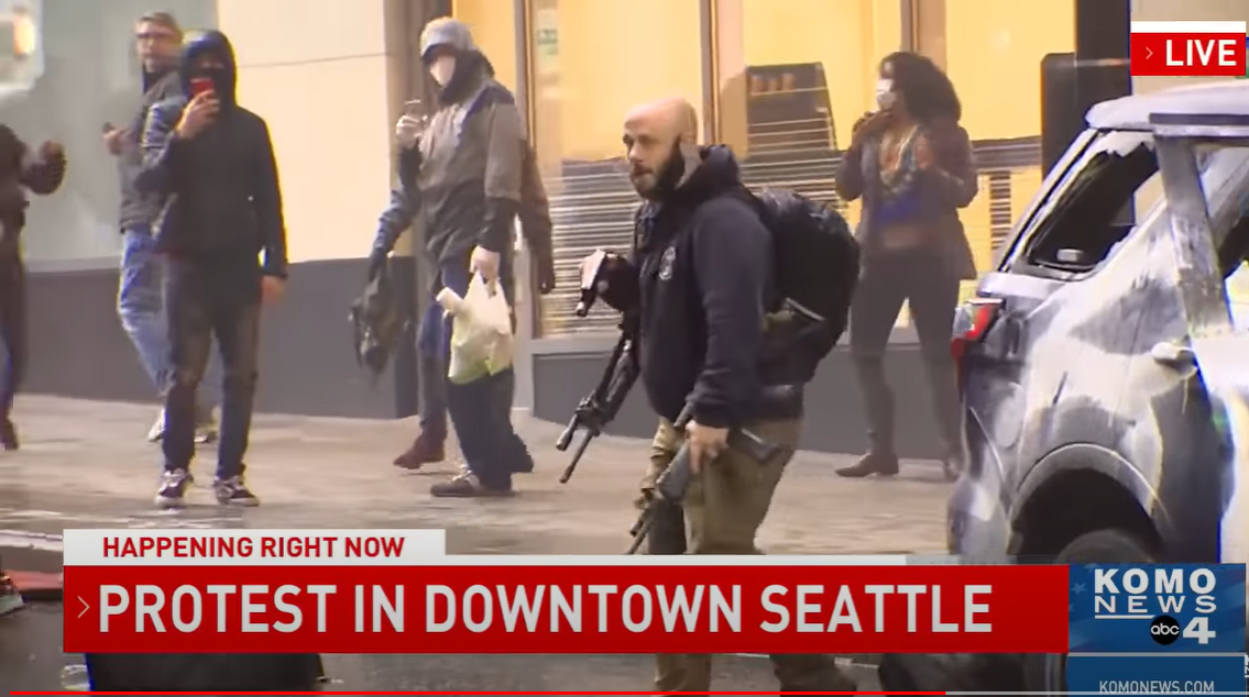MUST WATCH: Marine Vet Recovers Stolen Police Rifle from Rioter
