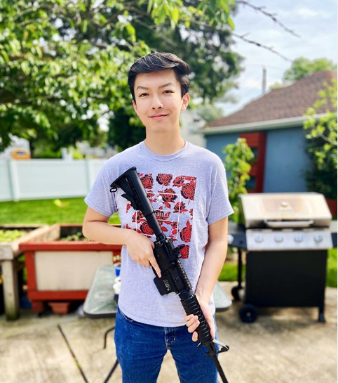 Student Accuses College of 'Soviet-Style Discipline' after Photo with AR-15 is Labeled a Hate Crime