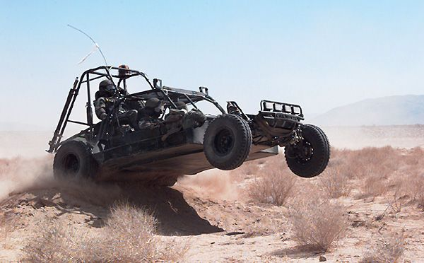 Speed Demons: Military Dune Buggies and Their Weapons