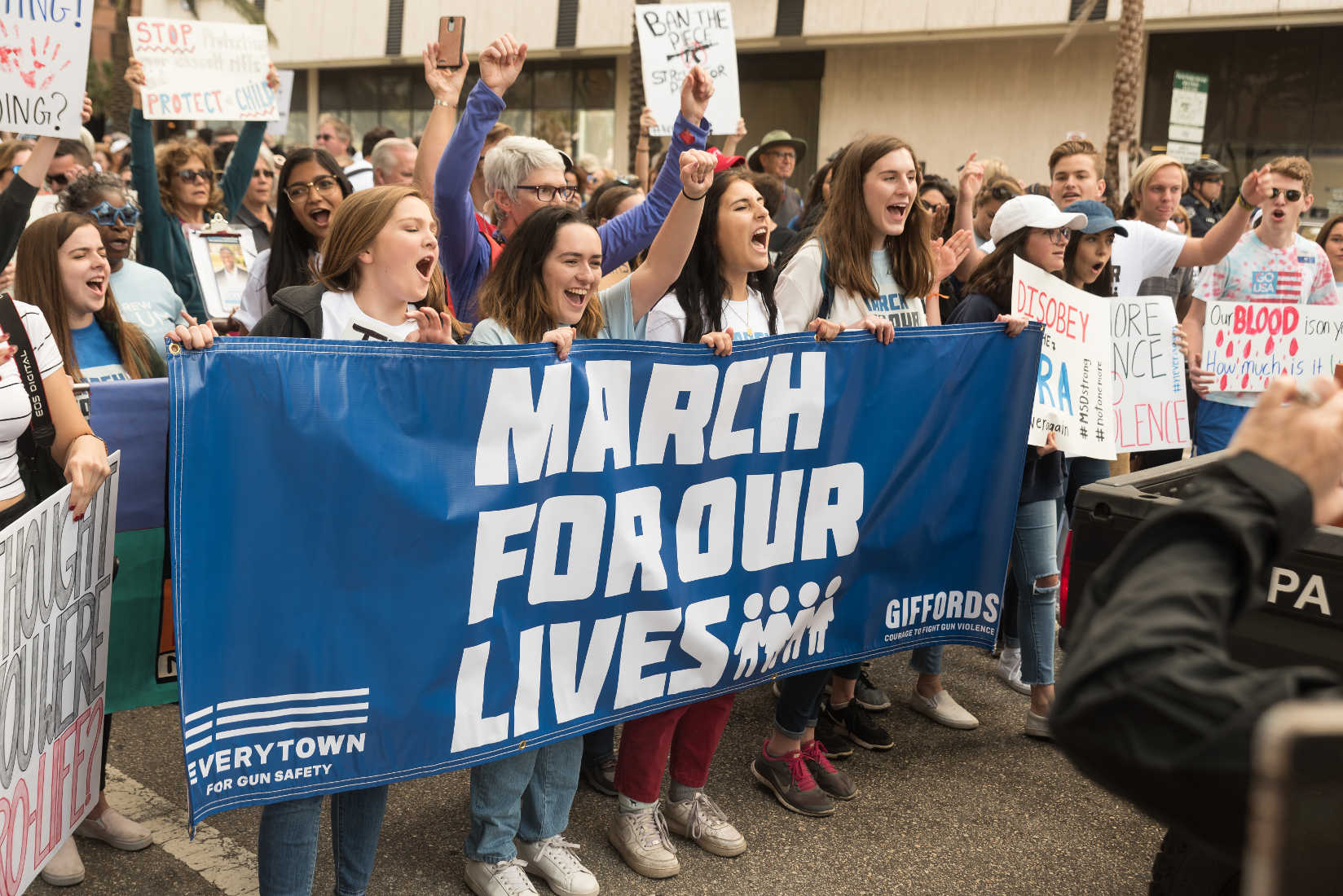March for Our Lives Kids to Register Young Voters Across Country
