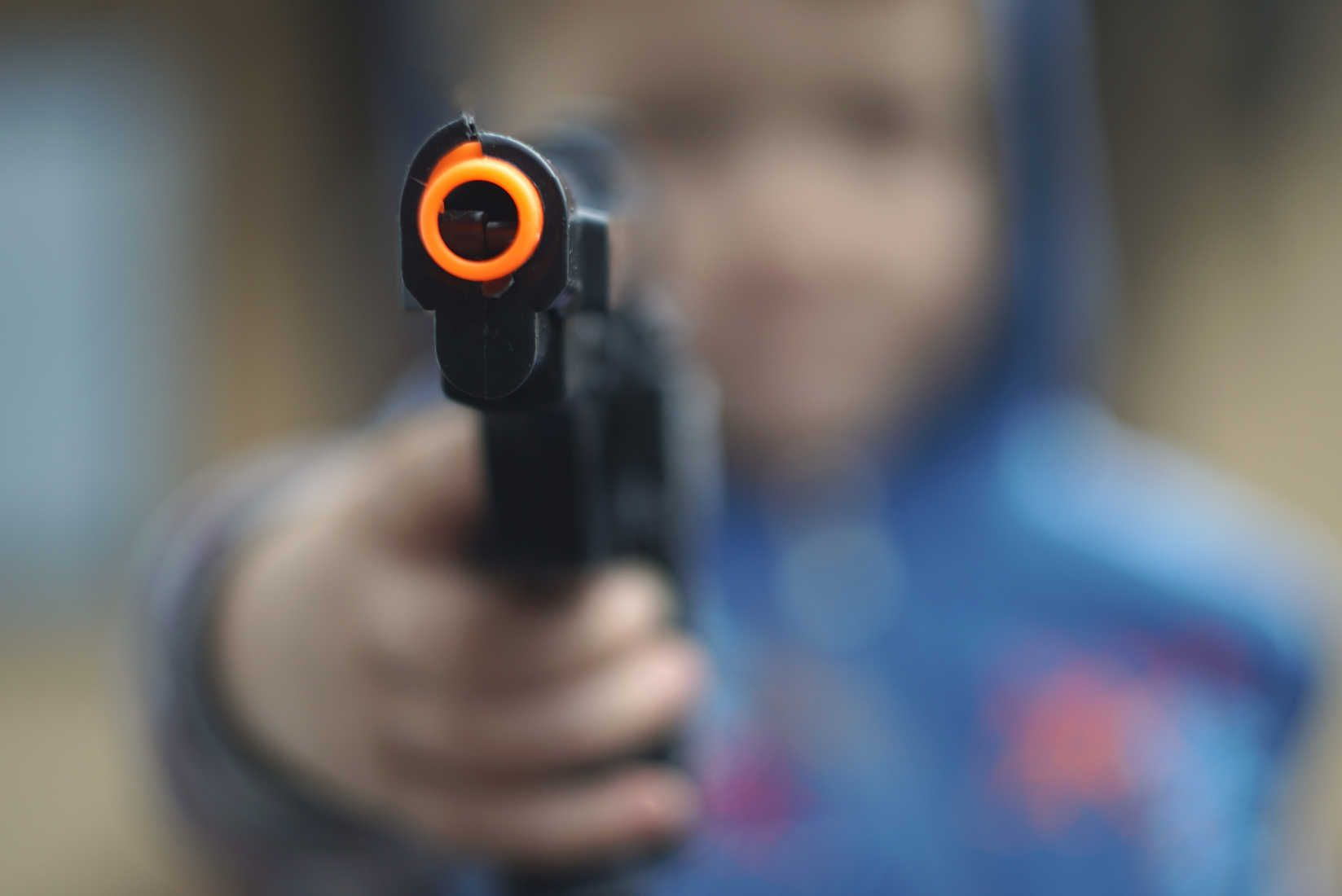 12-Year-Old Suspended for Having Neon Toy Gun in Virtual Class