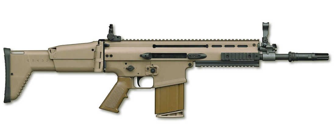The Mk. 17 SCAR-H Battle Rifle