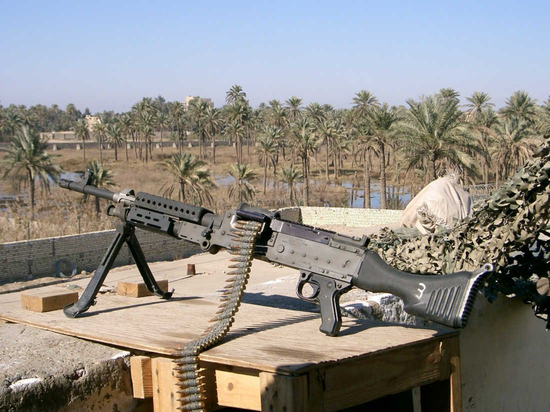 Training over Gear: National Guard Weapons in Iraq 2004