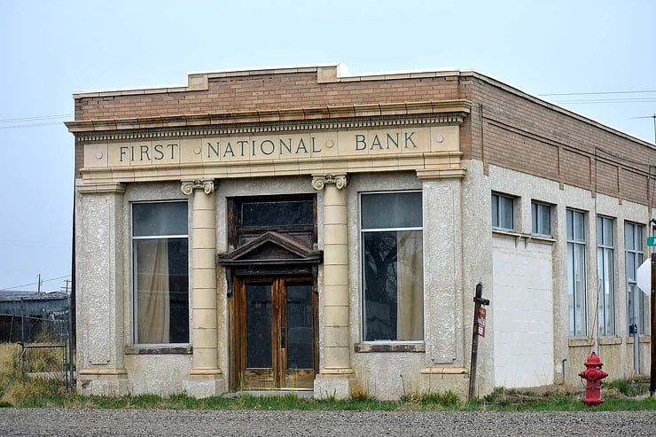 Boom & Bust: The Story of a Beautiful Bank Building in the Middle of Nowhere, Wyoming
