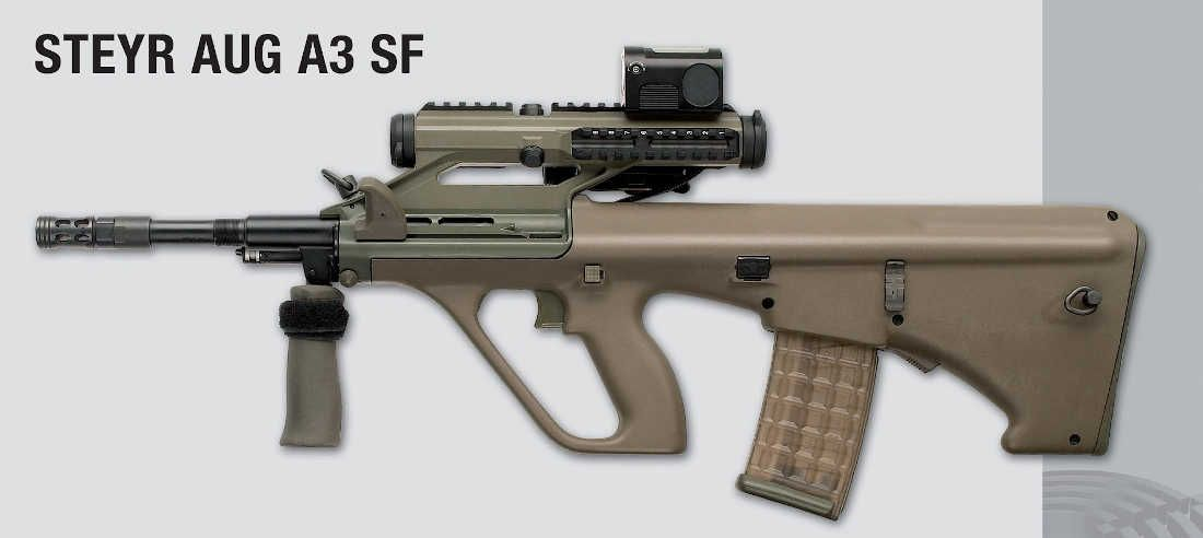 The Steyr AUG: Still Futuristic After 44 Years