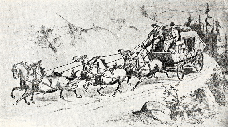 A True Story of Stagecoach Robberies in the Old West