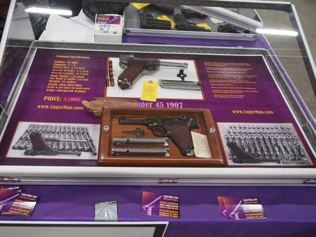 Two Collectible Shows Meant Twice the Fun for Antique Gun Collectors